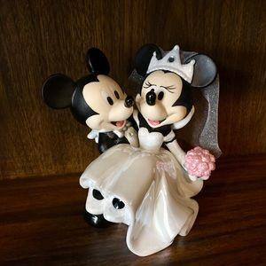DISNEY! Mickey & Minnie WEDDING figurine 💕